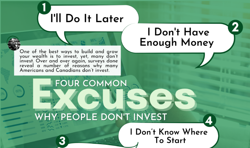 18_Four Investment Excuses Banner